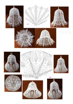 bajkopisarka - Her Crochet Crochet Tree, Crochet Angels, Irish Crochet, Crochet Crafts, Crochet Flowers, Crochet Projects, Crochet Snowflake Pattern, Christmas Crochet Patterns, Holiday Crochet