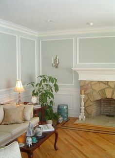Expert moulding, coupled with expert painting adds a high-end look to your home. - Just look at what All Trades in NJ can do!