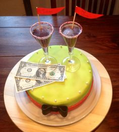 American cocktail Cake