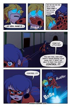"""Miraculous: Tales of Ladybug and Cat Noir  """"Masquerader"""" - By emzurl  Page 12 > Page 14 (coming soon)"""