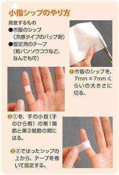 「小指シップ」は、私が最初に考案したシップ療法です。きっかけは、息子のテニスひじでした。私もテニスひじの経験があり、その痛さはよく知っています。一度なるとなかなか治らず、その間は練習もできません。ところが、小指にシップをはったら、その痛みがわずか数日で治ったのです。【解説】安田 譲(安田医院院長)