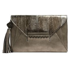Rental Rafé Sarina Clutch (€31) ❤ liked on Polyvore featuring bags, handbags, clutches, fold-over handbags, rafe, rafe handbags, envelope clutch and rafe purse