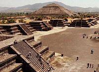 Teotihuacan - avenida de los muertos