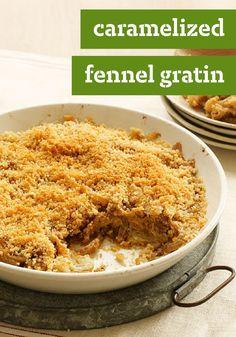 ... crispy creamy fennel gratin recipes dishmaps crispy creamy fennel