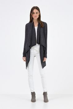 Country Road extrafine merino wool waterfall cardigan. | MY STYLE ...