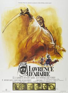 LAWRENCE Of ARABIA Movie Poster 1962 Hollywood Classic RARE by GoreStoreNY on Etsy https://www.etsy.com/listing/400103681/lawrence-of-arabia-movie-poster-1962