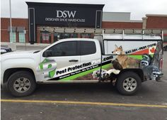 Amazing graphics on this wrap completed by Speedpro Imaging QEW & 427 for client, Pest Protection Plus!