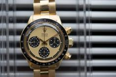 Another record-breaking Rolex brings big results on the second day of Phillips Geneva Watch Auction: Five. Rolex Paul Newman, Paul Newman Daytona, Cool Watches, Watches For Men, Unique Watches, Most Expensive, Rolex Daytona, Seiko Watches, Geneva