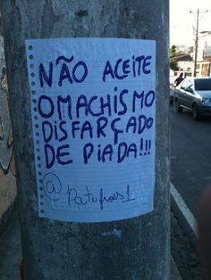 paga de chata mas não deixa assim não, euem Feminist Movement, Quotes About Everything, Protest Signs, Riot Grrrl, Feminist Quotes, Power To The People, We Can Do It, Some Words, Girls Be Like