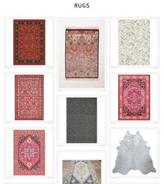 We found all of our favorite rugs and we put them in one place for you. See the patterned and colorful ones, the neutral ones that work everywhere, and all of the other finds that make our heart go pitter patter.