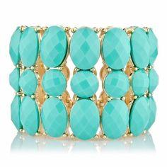 Lotte's Turquoise Bohemian Statement Bracelet