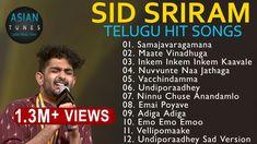 💕 SID SRIRAM 2019 SPECIAL ❤️ HEART TOUCHING ROMANTIC JUKEBOX💕   ❤️ BEST ... Good Music, My Music, Music Labels, Music Songs, Telugu, Jukebox, Romantic, Guys, Heart