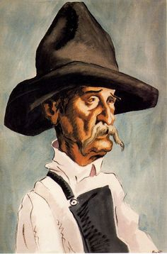 Thomas Hart Benton, one of my favorite artists. Love his detail to everything, how humble he must have been.  He passed away in 1975.