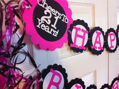 21st Birthday Party Decorations Cheers to 21 Years