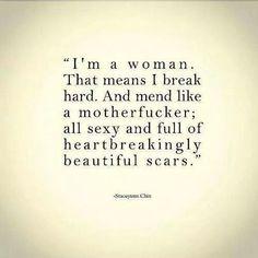 Im a woman..