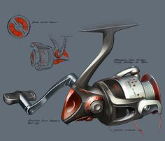 Pure Fishing by Formation Design. / MB: Would be easy to use by way of this design.