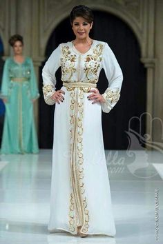 Made in Morocco Kaftan Abaya, Caftan Dress, I Dress, Caftan Gallery, Muslim Evening Dresses, Arabic Dress, Arab Fashion, Geek Fashion, Moroccan Caftan