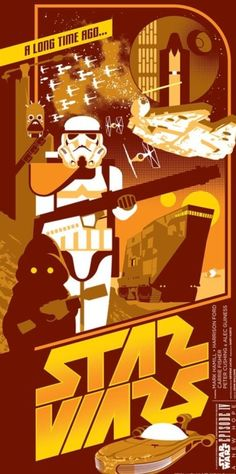 Star Wars Tattoine poster found New York