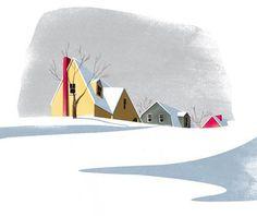 illustrations form Marguerite's Christmas