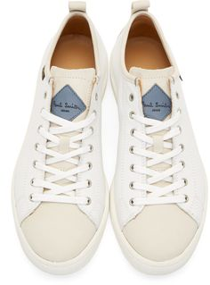Paul Smith Jeans White Miyata Sneakers