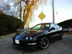 Acura integra black