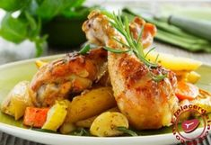 Muslos de pollo cocido con patatas - Elplacerdelacarne.com