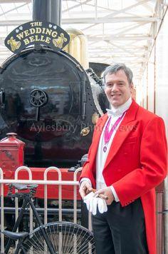 #toastmaster at weddings on the railway - Buckinghamshire Railway Centre