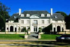 Highland Park Mansion | French Provincial style mansion in the upscale enclave of Dallas.