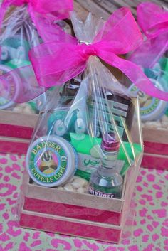 Glamping Girls: Gift Bags for girls weekend - minus the vodka for the little ones