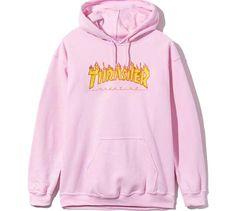 Thrasher pink hoodie