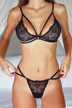 5e8eb78a01dae 33 Exquisite Black Lingerie Sets for Your Sexy Look