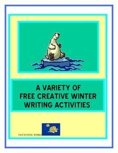 A Variety of Free Creative Winter Writing Activities 12 pages - Product is free and contains: 3 Creative Writing Prompts 3 Story Starters 3 Winter Word Activities Differentiate with the different choices. Hope you find useful with your kids.