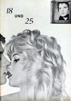 Bridgette Bardot and Alain Delon