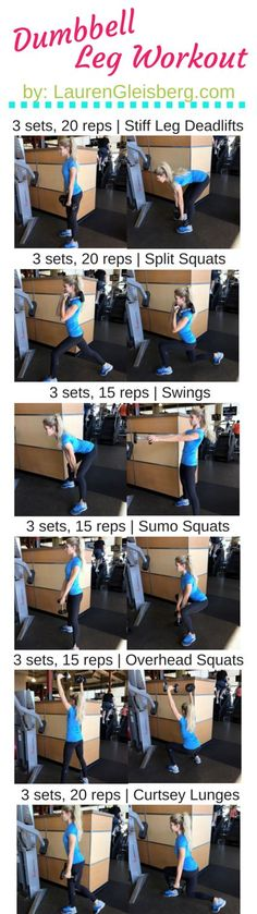 Dumbbell Leg Workout