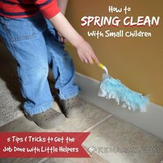Spring Cleaning with Small Children: 5 Tips to Make It Fun - Kenarry.com