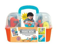 Small World Toys Little Handyman Tool Box. With the Little Handyman's Tool Box from Small World Living Toys, your preschooler can pretend to fix just about anything. More at http://suliaszone.com/small-world-toys-little-handyman-tool-box/