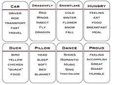 Teaching English: Taboo! Game Cards {Free Printable} | EmbracingChina