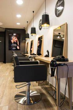 """miniature Salon de coiffure """"l'Atelier de Julien"""", Belfort, Inovea Deco - décorateur d'intérieur"""