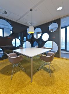 Brunel Is An International Recruitment Agency Rotterdam Office Interior Design Corporate Identity And Project Management By Heyligers