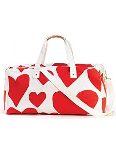 2b1fbb617df6 Ban.do 51215 Extreme Super Cute Hearts Getaway Duffle Bag ❤ The Regatta  Group DBA
