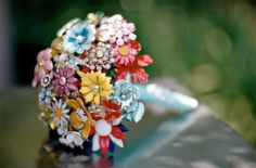 brooch bouquet by angelia
