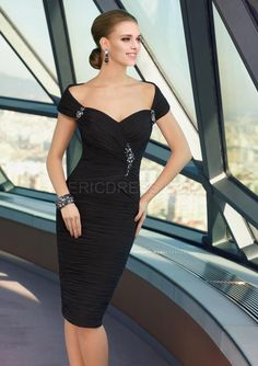 Fashionable Sheath Sweetheart Off the Shoulder Backless Charming Mother Dress Mother of the Bride Dresses 2014- ericdress.com 10906309