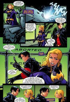 Red Robin and Batgirl 3/4