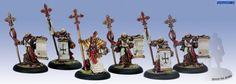 Privateer Press Protectorate of Menoth - Choir of Menoth Model Kit