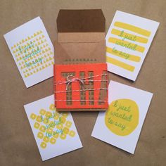 Craft Subscription Kit - Sign up by March 10th to get yours!! Feb #PaperPumpkin alternate idea - Note card set February 2015 project #thankyou #cardmaking www.MidnightCrafting.com  #stampinup