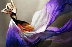 ombre dyeing