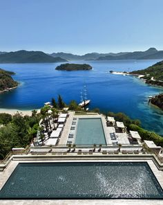 Revitalise your health and fitness overlooking views of the Mediterranean at D-Hotel Maris in #Turkey.