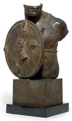 Igor Mitoraj (b. 1944) Buste incised artist's signature and dated 'MITORAJ '88' (on the base) bronze 22¼ x 15½ x 9½in. (56.5 x 39.3 x 24cm.) Executed in 1988