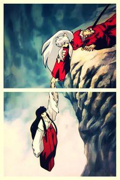 Kikyo-never let go Jack Inuyasha- I will never.... wait Let it Go Let her go!!!!!!!!!