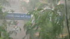 Sudden Rain Storm In Dhaka City, Bangladesh - Very Bad Weather